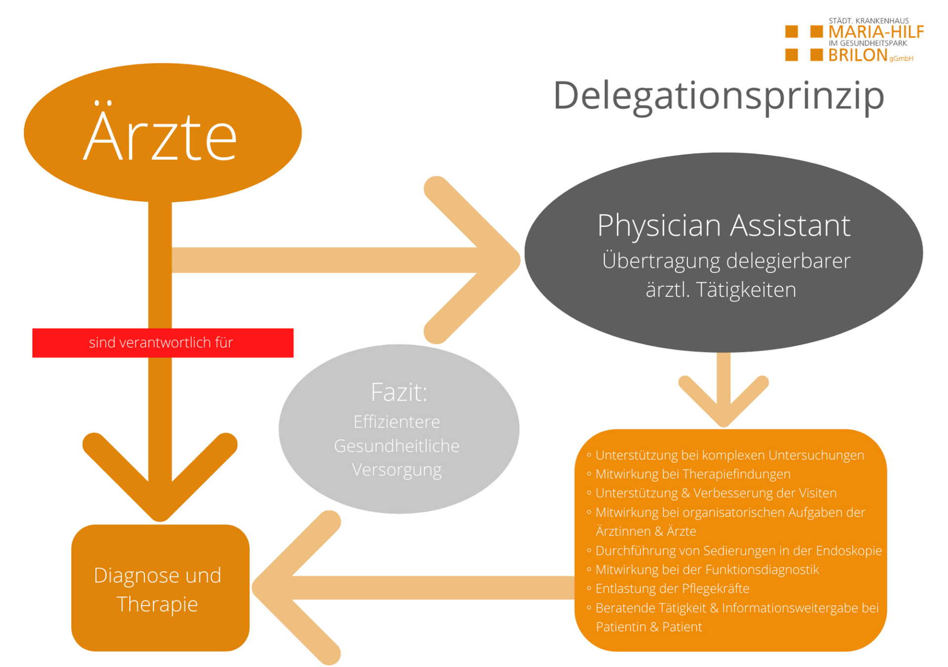 Delegationsprinzip Physician Assistant
